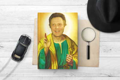 CHRISTOPHER WALKEN NOTEBOOK