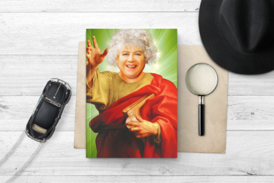 MIRIAM MARGOLYES NOTEBOOK