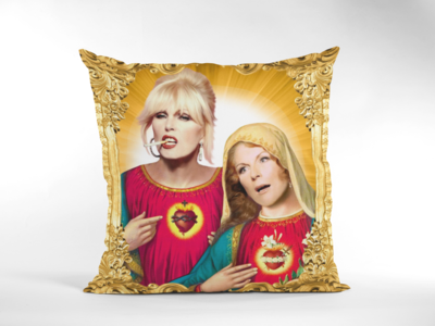 AB FAB (PATSY & EDDIE) CUSHION
