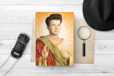 RICK ASTLEY NOTEBOOK