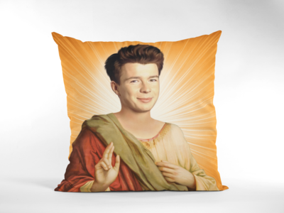 RICK ASTLEY CUSHION