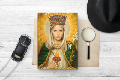 BUFFY NOTEBOOK (Sarah Michelle Gellar)