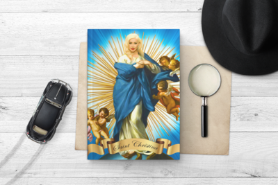 CHRISTINA AGUILERA NOTEBOOK