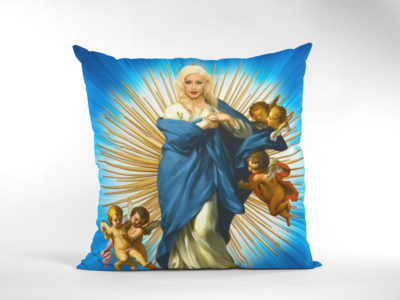 CHRISTINA AGUILERA CUSHION
