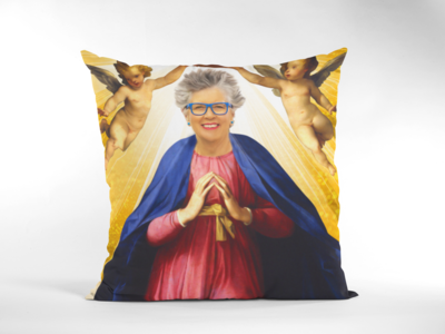 PRU LEITH CUSHION (Great British Bakeoff)
