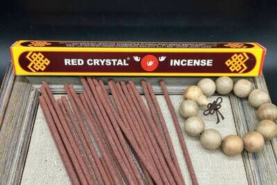 Red Crystal Tibetan Herbal Incense