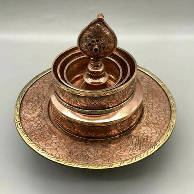 Mandala Offering Set - copper