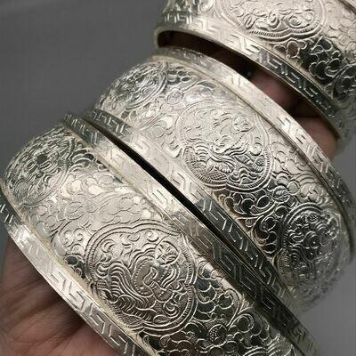 Silver Mandala Offering Set