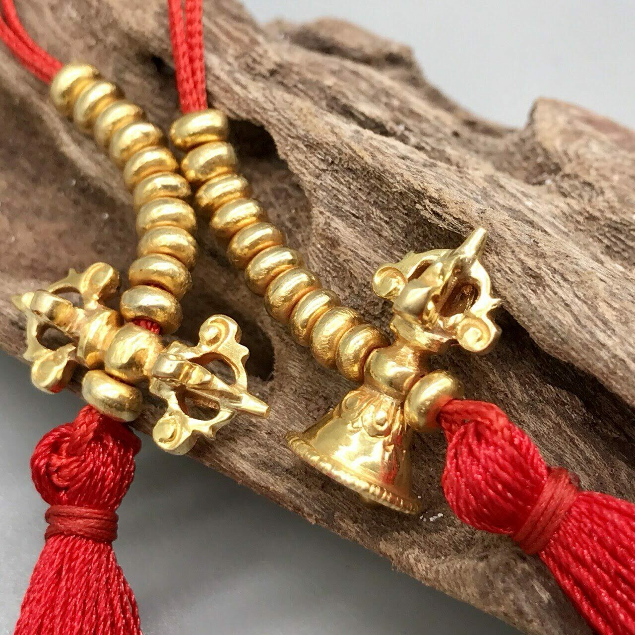 Golden Counters for Buddhist Rosary