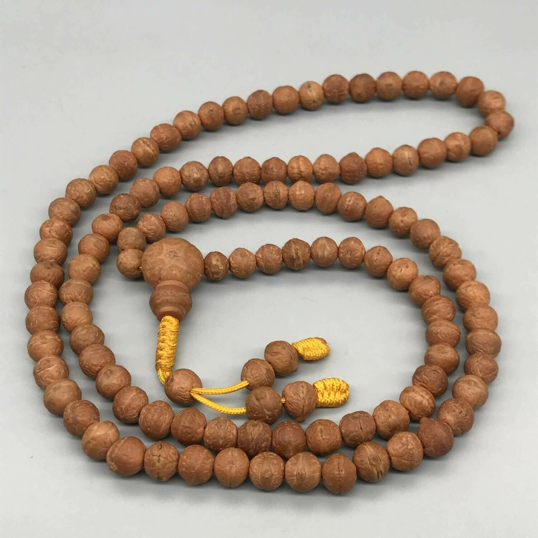 Nepali Bodhi Seeds Mala 108 Prayer Beads
