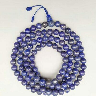 Lapis Lazuli Mala 108 bead for Practice