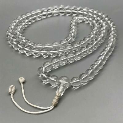 Nirvana Himalaya Crystal Mala 108 bead for Practice