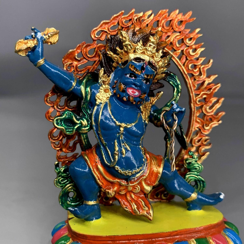 Vajrapani  - Colored small Statue