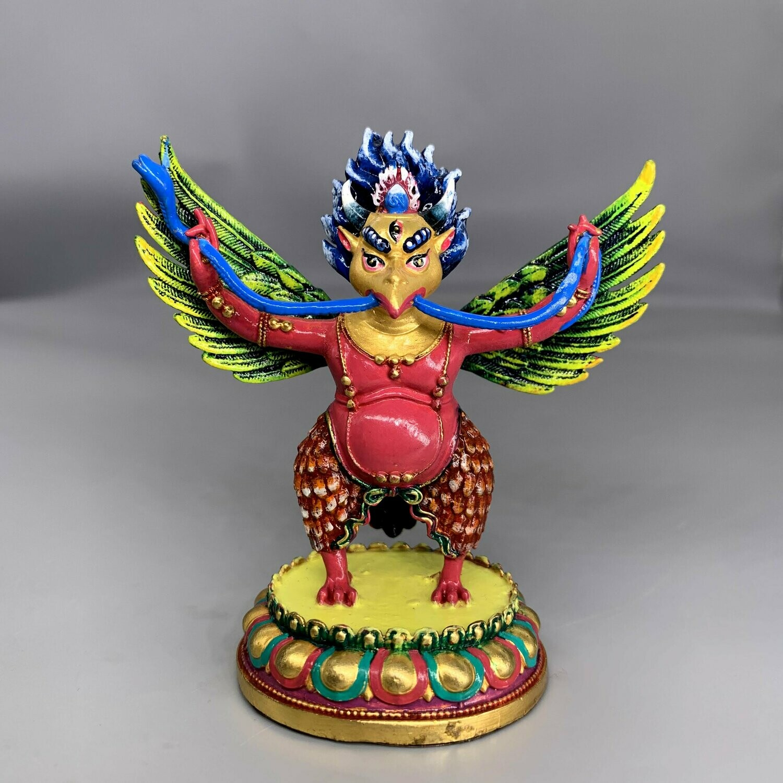 Garuda is an Immortal Bird-God Statue