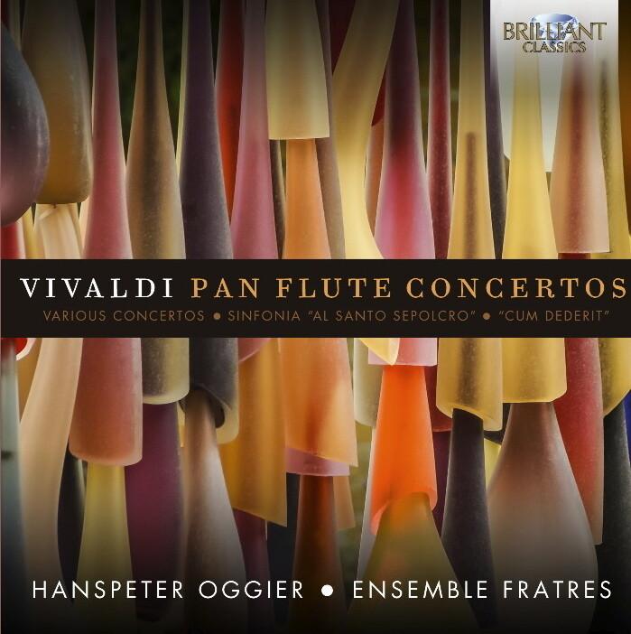 CD VIVALDI Pan Flute Concertos, Hanspeter Oggier und das Ensemble Fratres