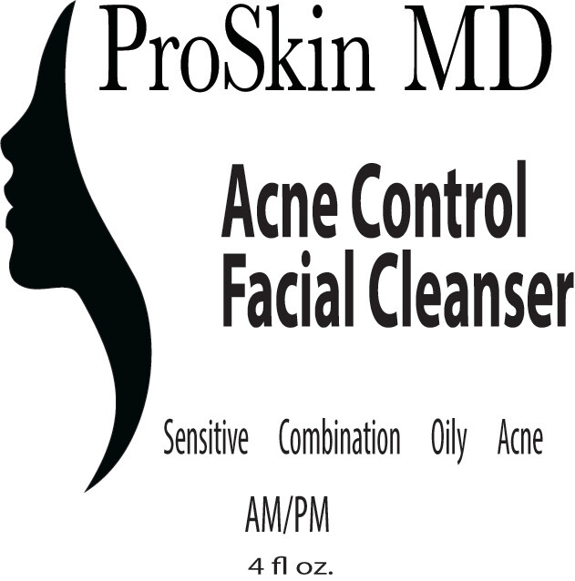 ProSkin MD Acne Control Cleanser 4.0