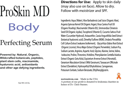 PSMD Body Perfecting Serum 2.0oz