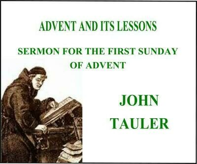 ADVENT AND ITS LESSONS