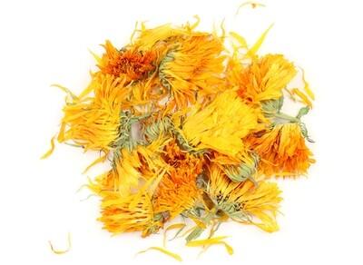 Calendula Flowers, Organic Whole 1 oz.