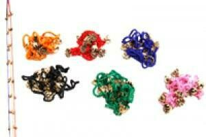 Bells On Colored String