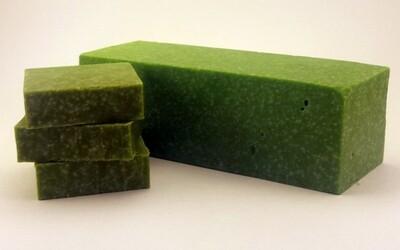 Green Verbena Scrub Soap