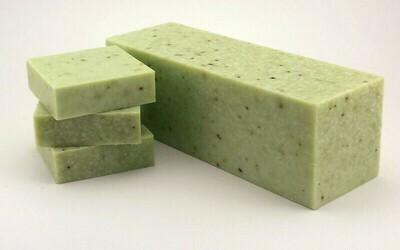 Peppermint Oats Bar Soap