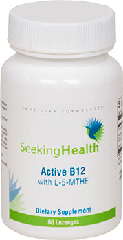 Active B12 with MTHF  by Seeking Health