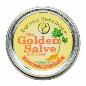 The Golden Salve w/propolis (small tin)