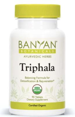 Triphala Tablets by Banyan Botanicals