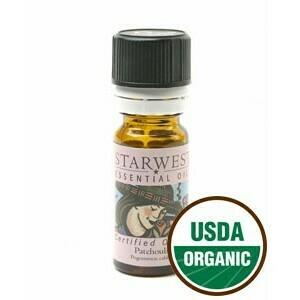 Patchouli Essential Oil 1/3 oz. organic