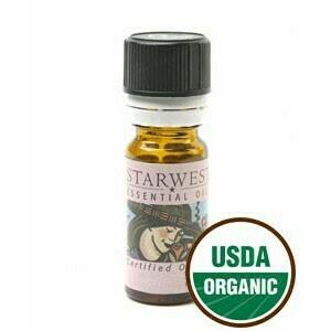 Tangerine Essential Oil 1/3 oz. organic