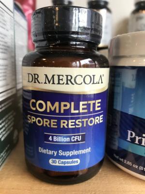 Complete Spore Restore Probiotic 30c