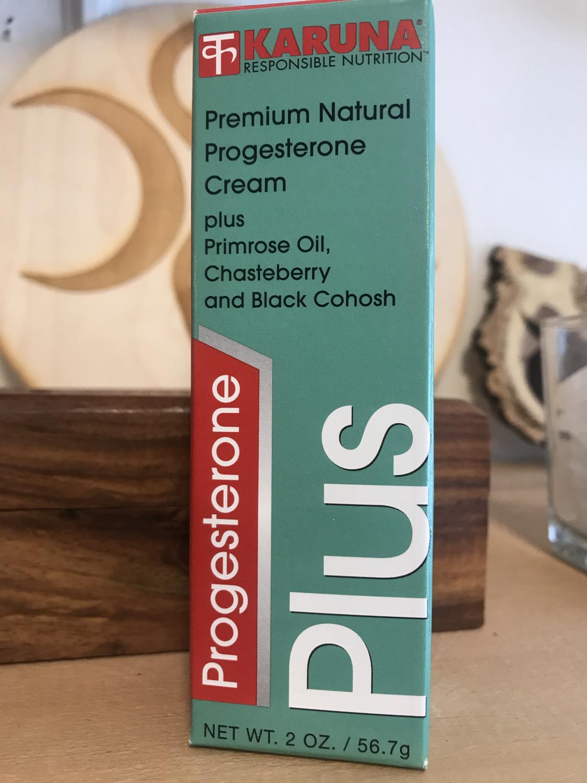 Progesterone Cream, premium natural 2oz by Karuna