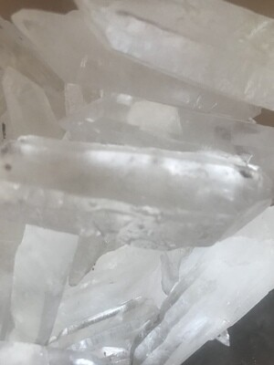 Quartz Crystal Points for Intention Boards & Grids