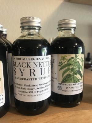 Black Nettle Syrup