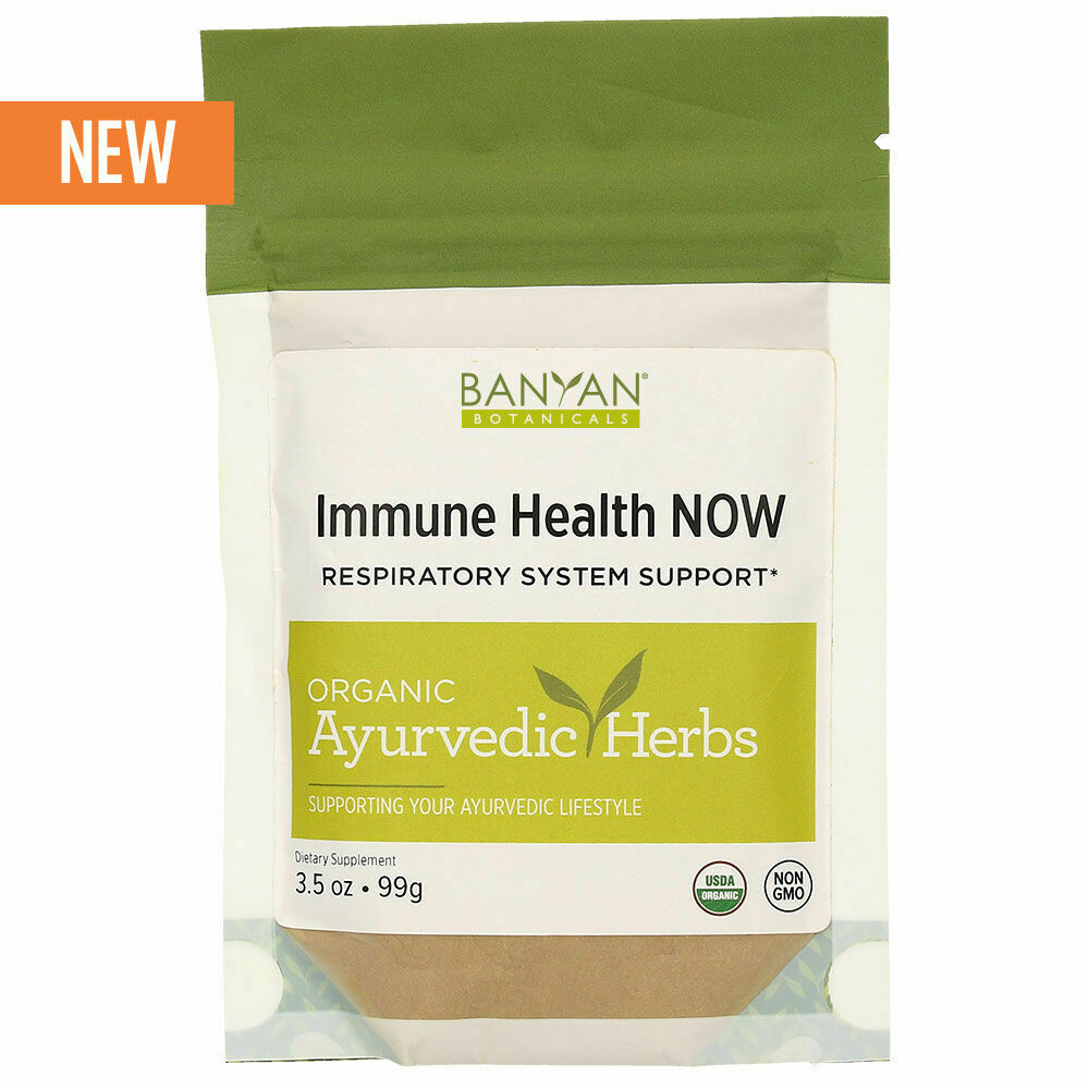 Immune Health Now - Respiratory System Support by Banyan Botanicals