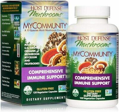 My Community, Host Defense Immune Support 60 Capsules