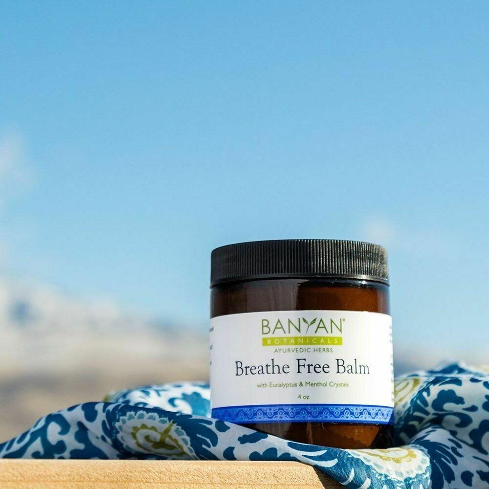 Breathe Free Balm by Banyan Botanicals