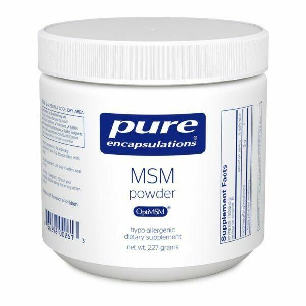 MSM Powder By Pure Encapsulations 8oz