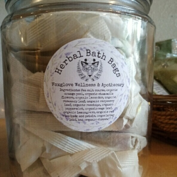 "Herbal Bath ""Tea"" Bags"