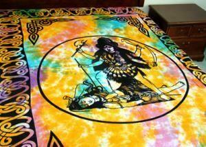 Kali/Shiva Tapestry
