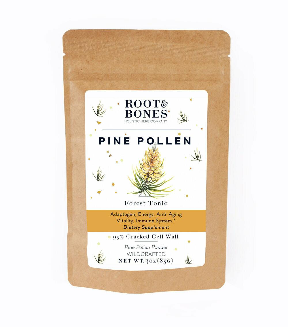 Pine Pollen by Roots & Bones 9 gram jar