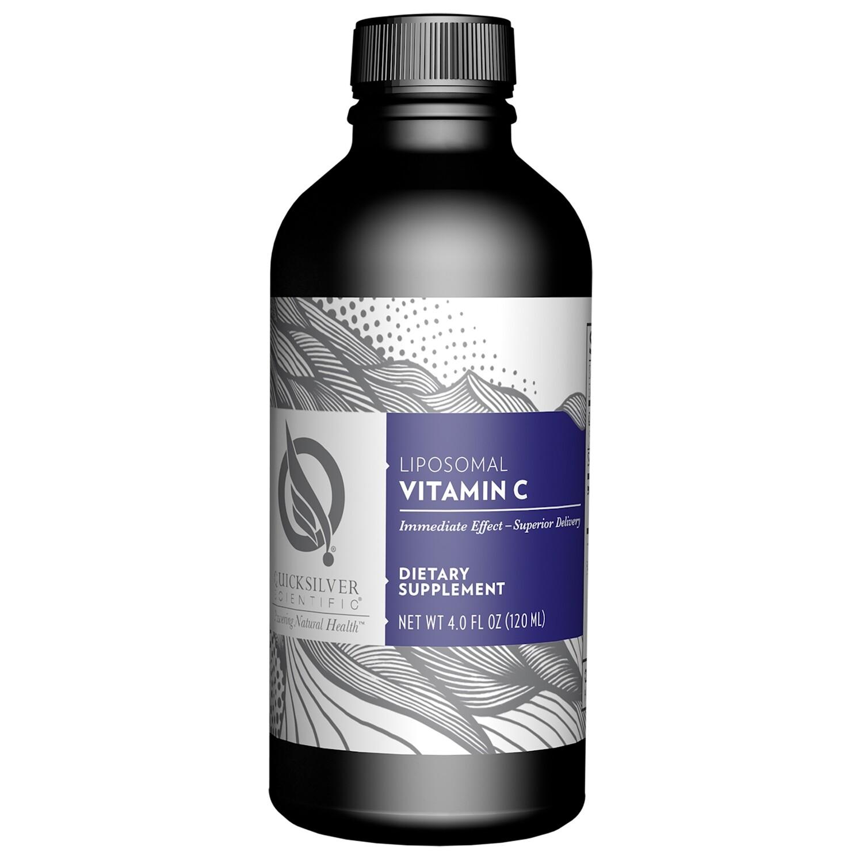 Liposomal Vitamin C by Quicksilver 4oz liquid