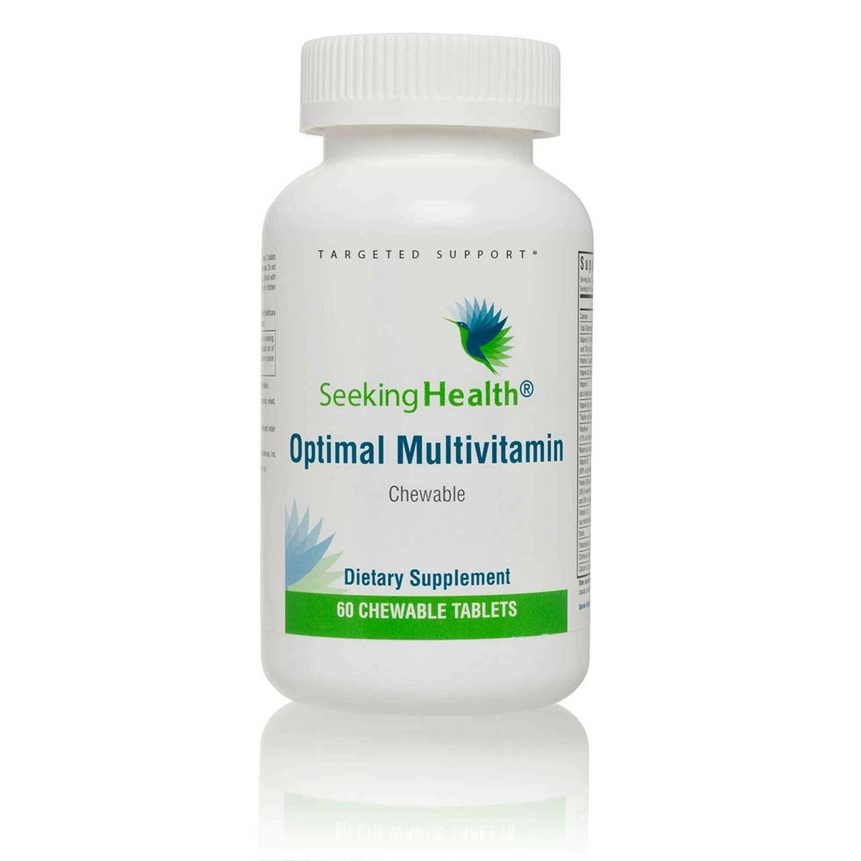 Optimal Multivitamin Chewable by Seeking Health