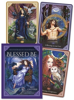 Blessed Be - Mystical Celtic Blessing Cards