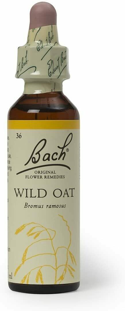 Wild Oat Bach Flower Remedy 20 ml