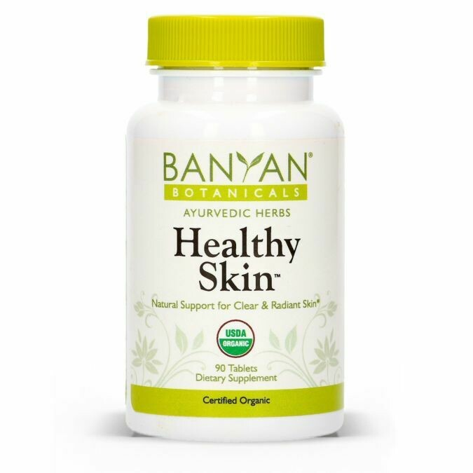 Healthy Skin Tablets by Banyan Botanicals