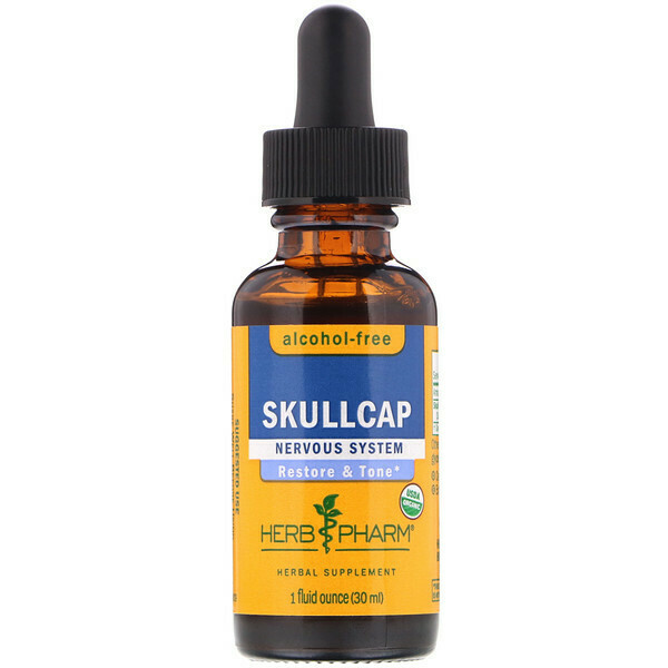 Scullcap Tincture by HerbPharm 1oz