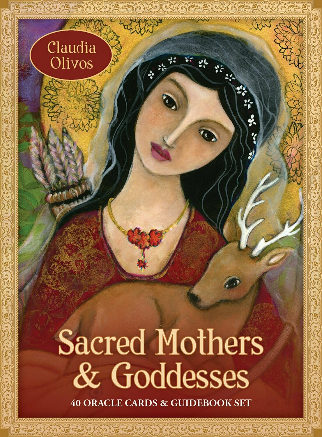 Sacred Mothers and Goddesses: 40 Oracle Cards & Guidebook Set