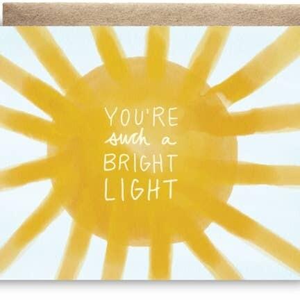 Maija Rebecca Hand Drawn Card - Bright Light